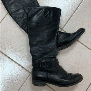 Aldo viersen leather boots